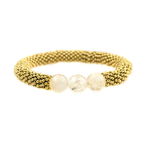 November Accent Bracelet In Gold