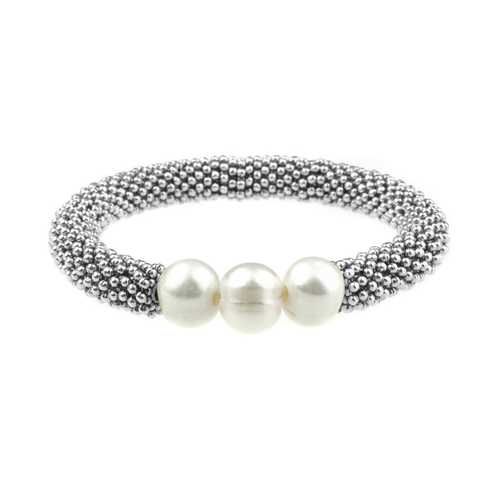 June Accent Bracelet In Silver
