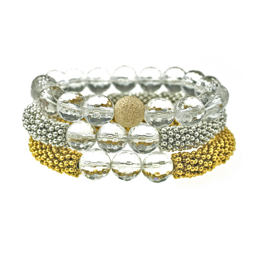 April Accent Bracelet In Gold