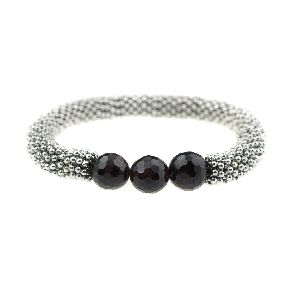 January Accent Bracelet In Silver