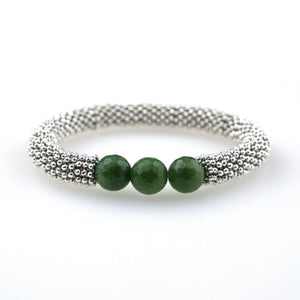 May Accent Bracelet In Silver