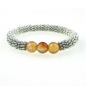July Accent Bracelet In Silver