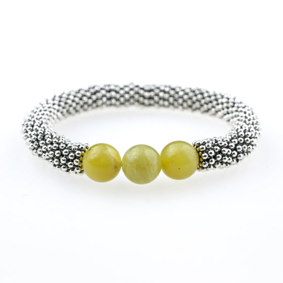 August Accent Bracelet In Silver