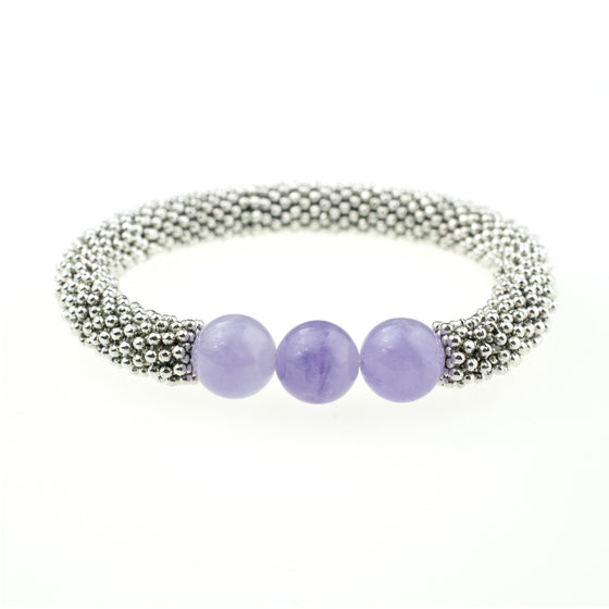 February Accent Bracelet In Silver