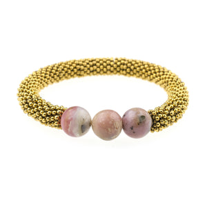 October Accent Bracelet In Gold