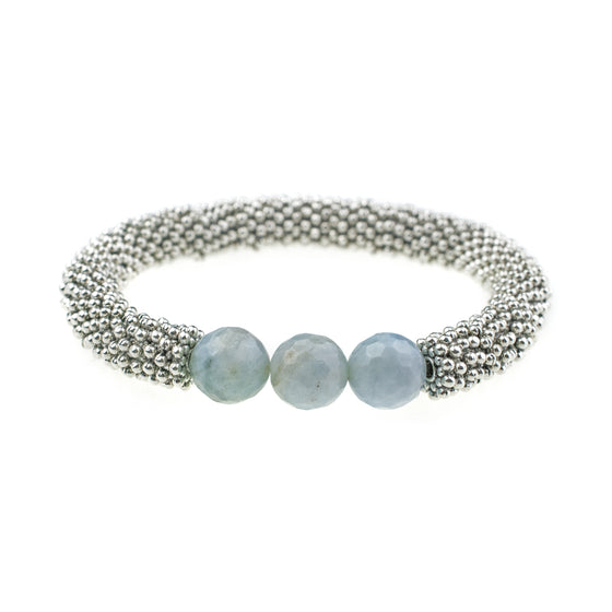 March Accent Bracelet In Silver