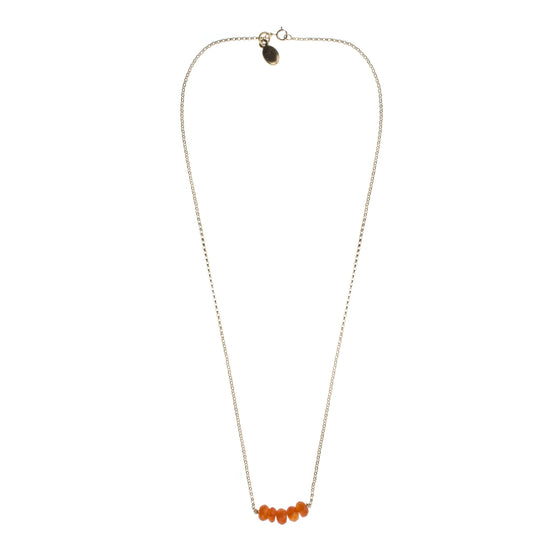 Carnelian Drop Necklace
