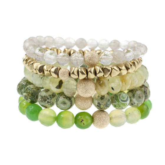The Spring Greenery Stack