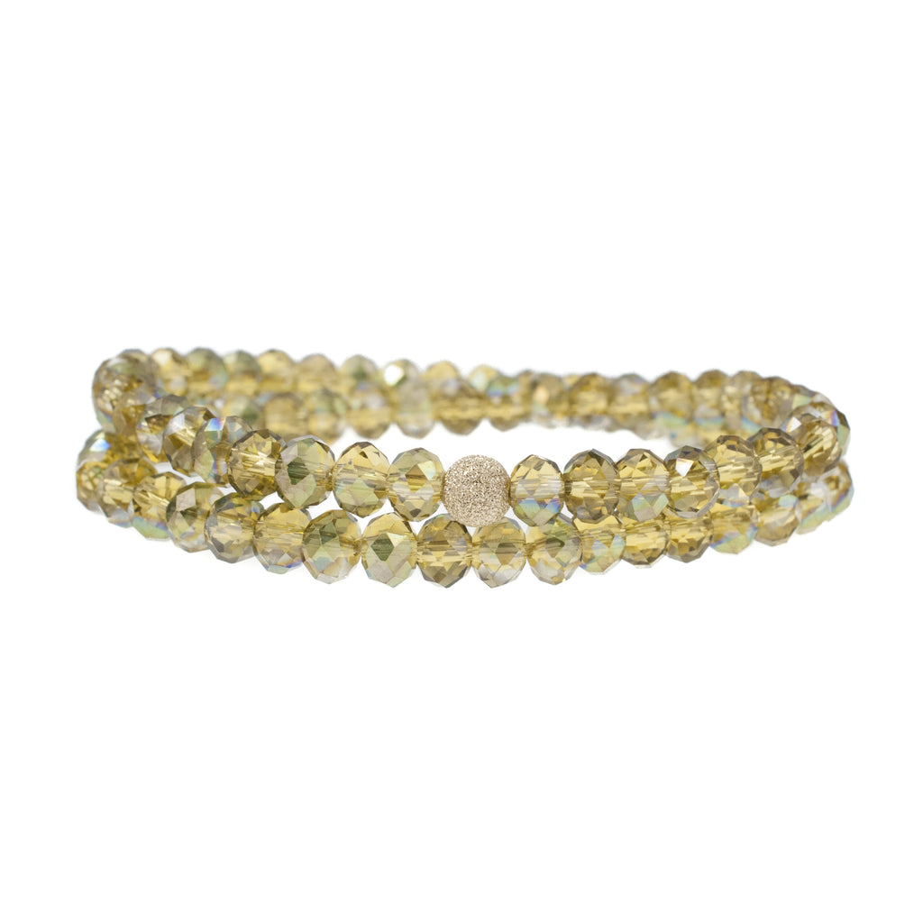 Golden Light Wrap  Bracelet