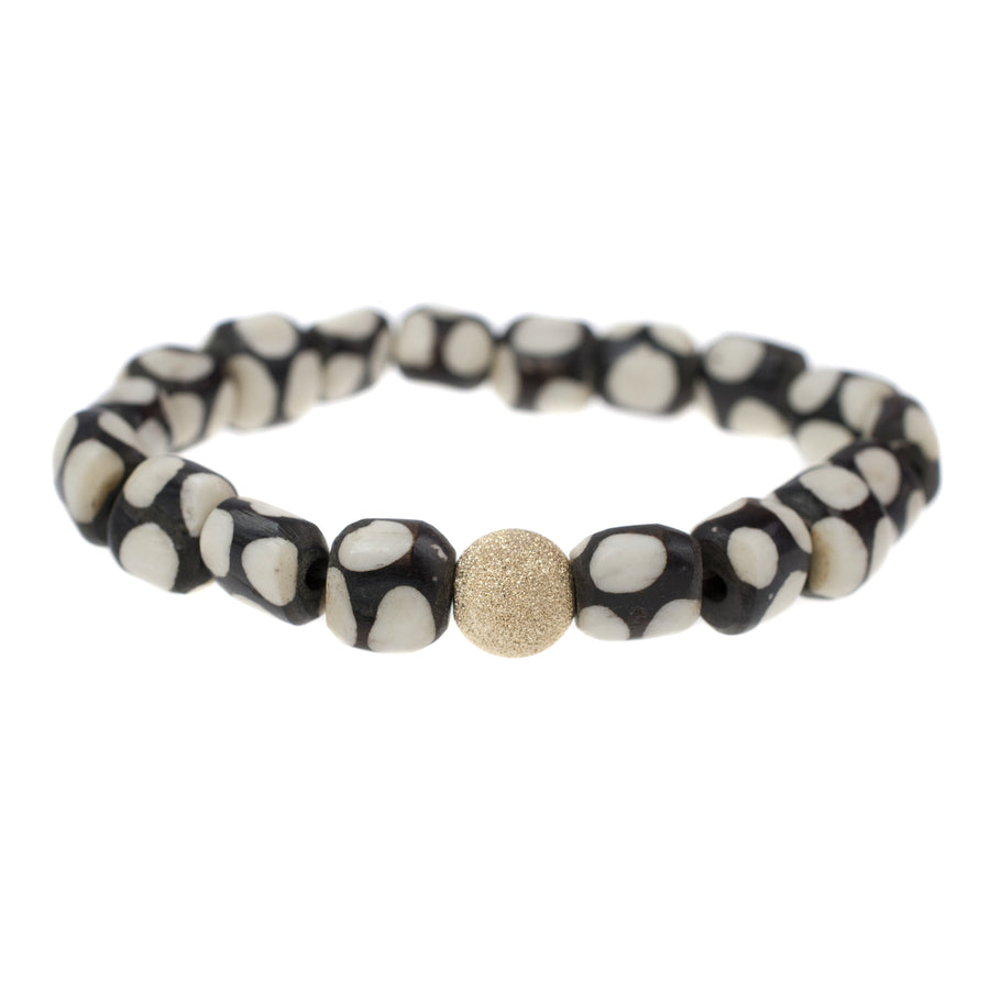 *New* Polka Dot Batik Bone