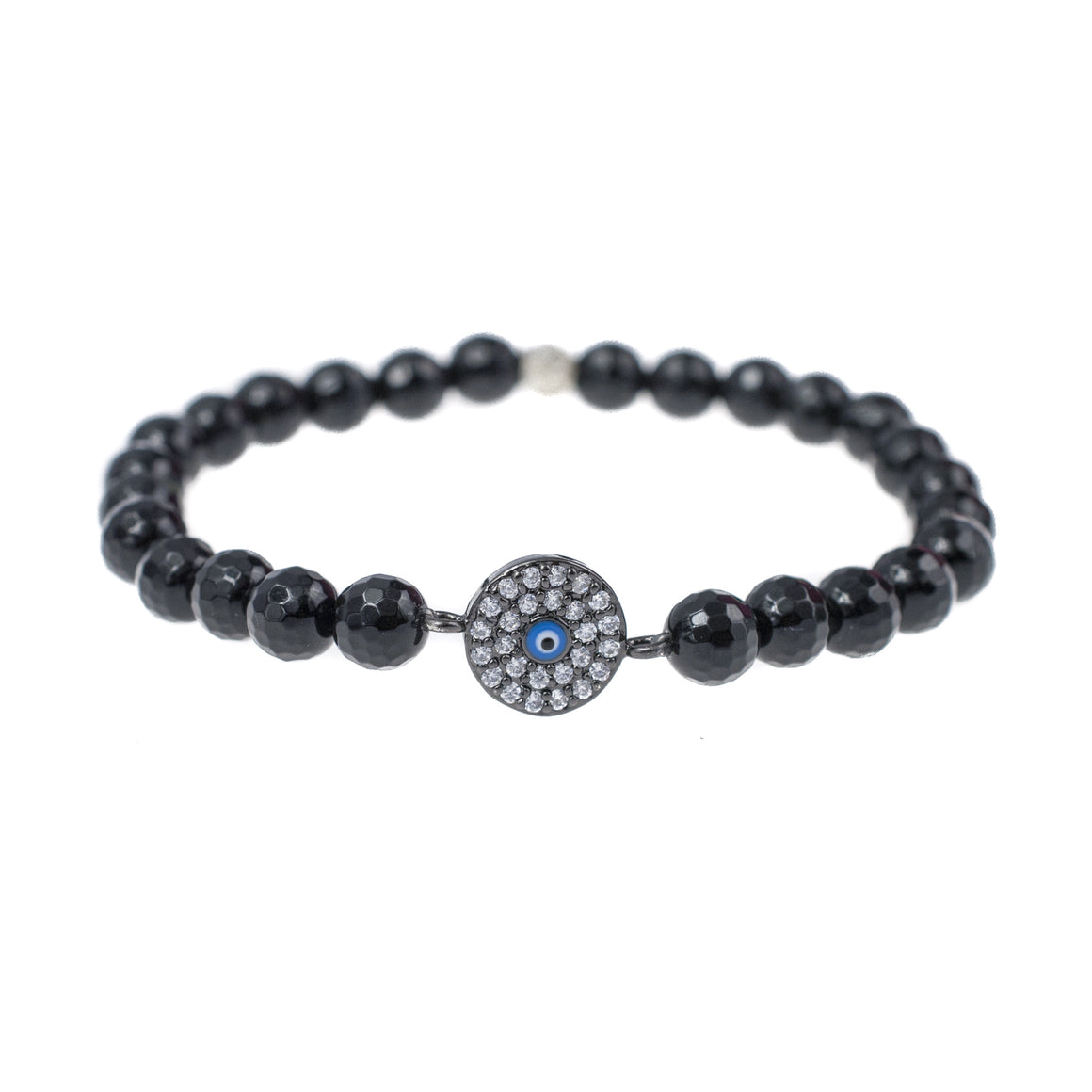 Small Evil Eye Talisman In Black