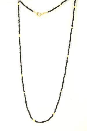 Black And Gold Mask Chain