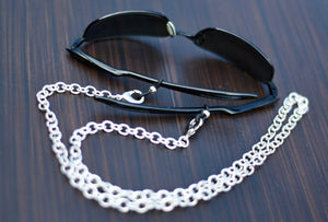 Silver Mask Chain