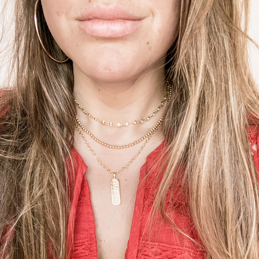 Crystal Queen 3 Piece Layering Stack