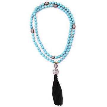 The Marrakesh Necklace in Turquoise