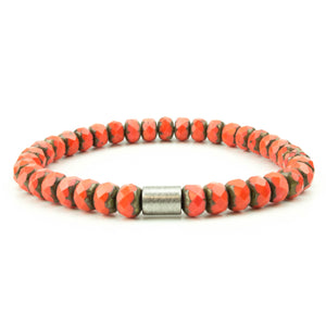 Men's Red Czech Mate Bracelet