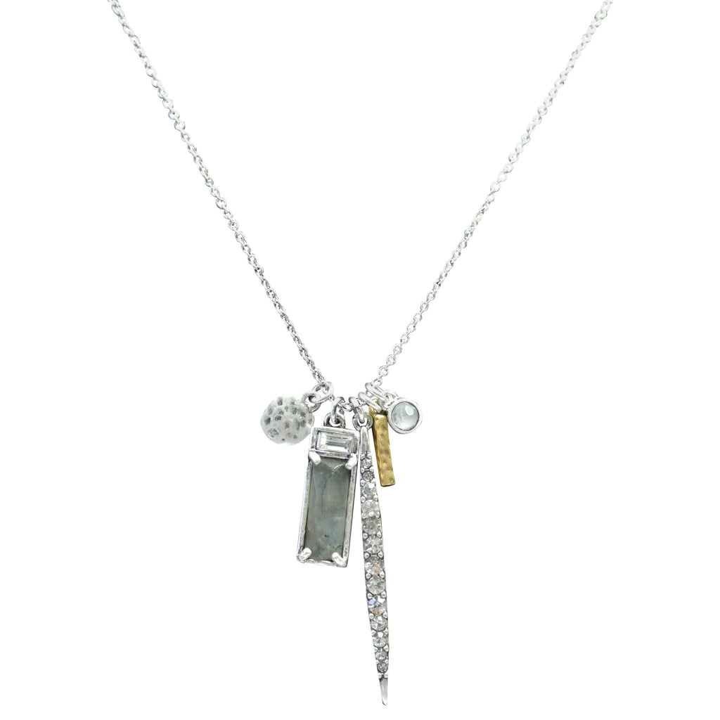 The Azurro Charm Necklace
