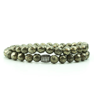 Pyrite Double Wrap