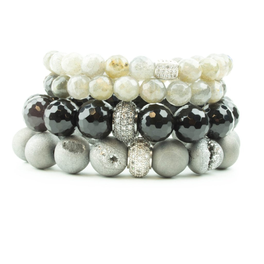 Gray Skies Pavé Stack