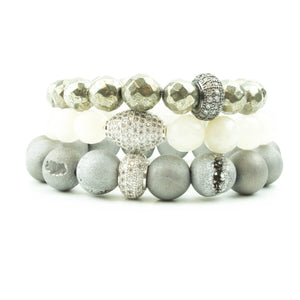 Pavé Fly Me To The Moon Stack