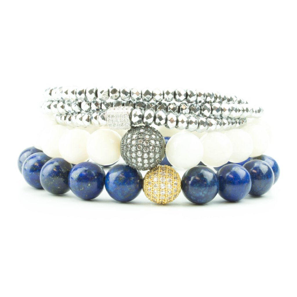 Blue Moon Pavé Stack