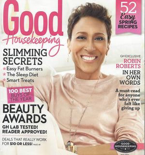 Robin Roberts/Good Housekeeping Magazine Stack