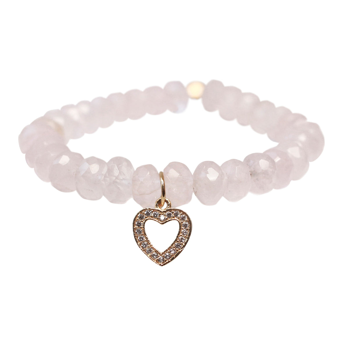 The Always in my Heart Charm in Gold