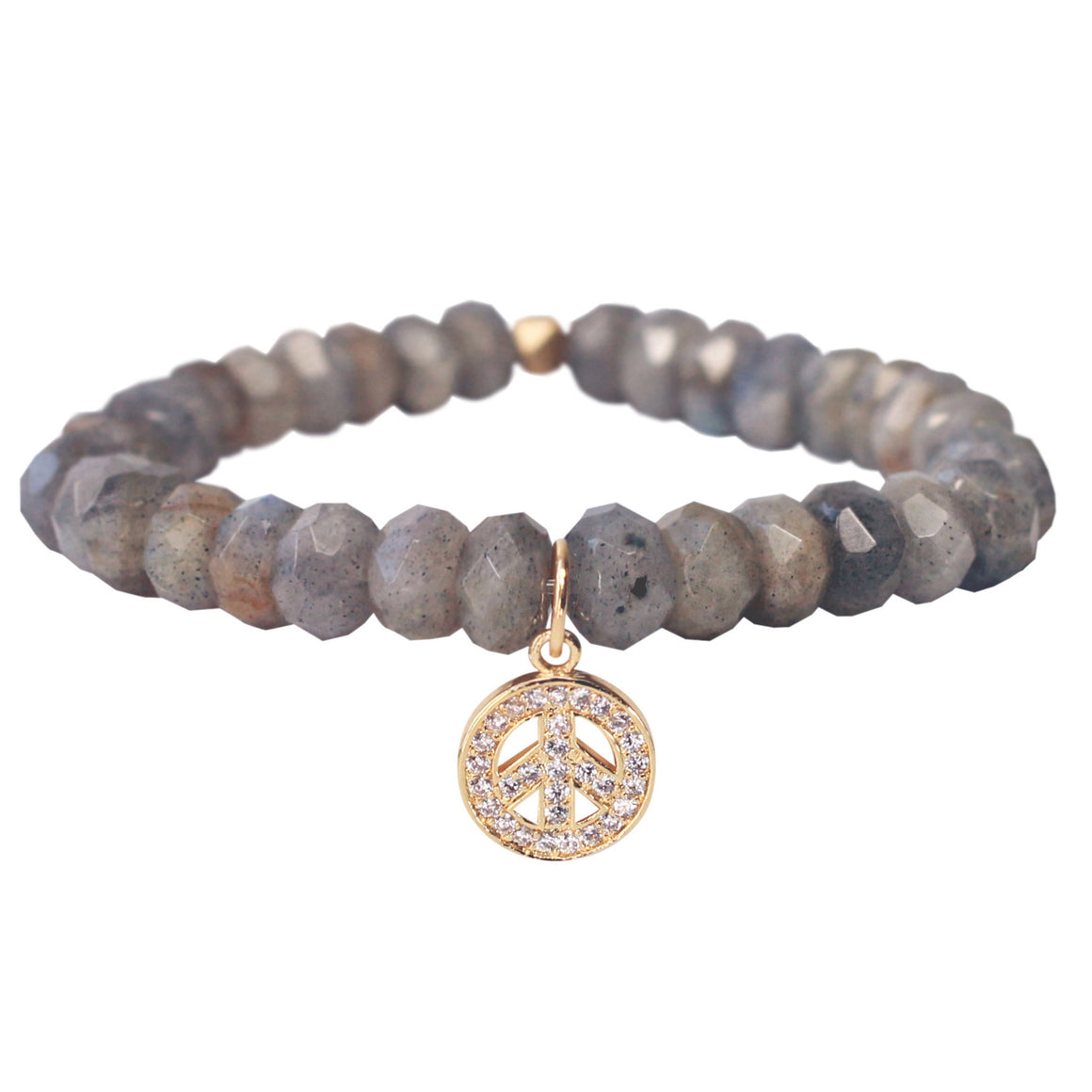 The Inner Peace Charm in Gold
