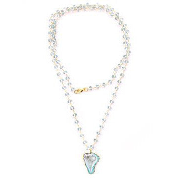 The Sienna Necklace in Aquamarine