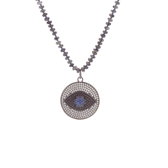 The Seeing Eye Medallion Necklace