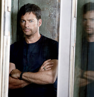 Harry Connick Jr. sporting Sisco + Berluti bracelets.