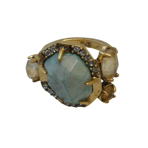 Magari Gemstone Ring