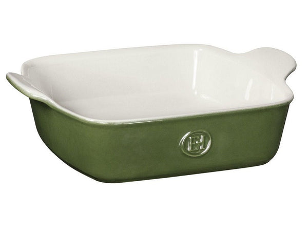 "Emile Henry Square Baking Dish -  8""X 8"" - in Green"