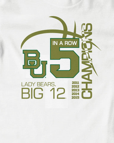 Lady Bears Basketball 5X Back2Back Champions