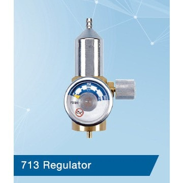 0.5LPM Regulator- CGA 600 FarrWest Environmental, , CalGaz, Regulators