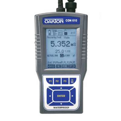 Oakton CON 600 series FarrWest Environmental, Con 600 / Meter Only, Oakton, Conductivity Meter