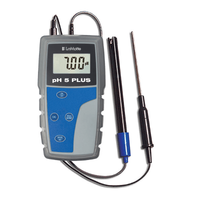 LaMotte pH 5 Plus - pH Meter FarrWest Environmental, 5 Series pH Meter with Case, LaMotte, pH Meter