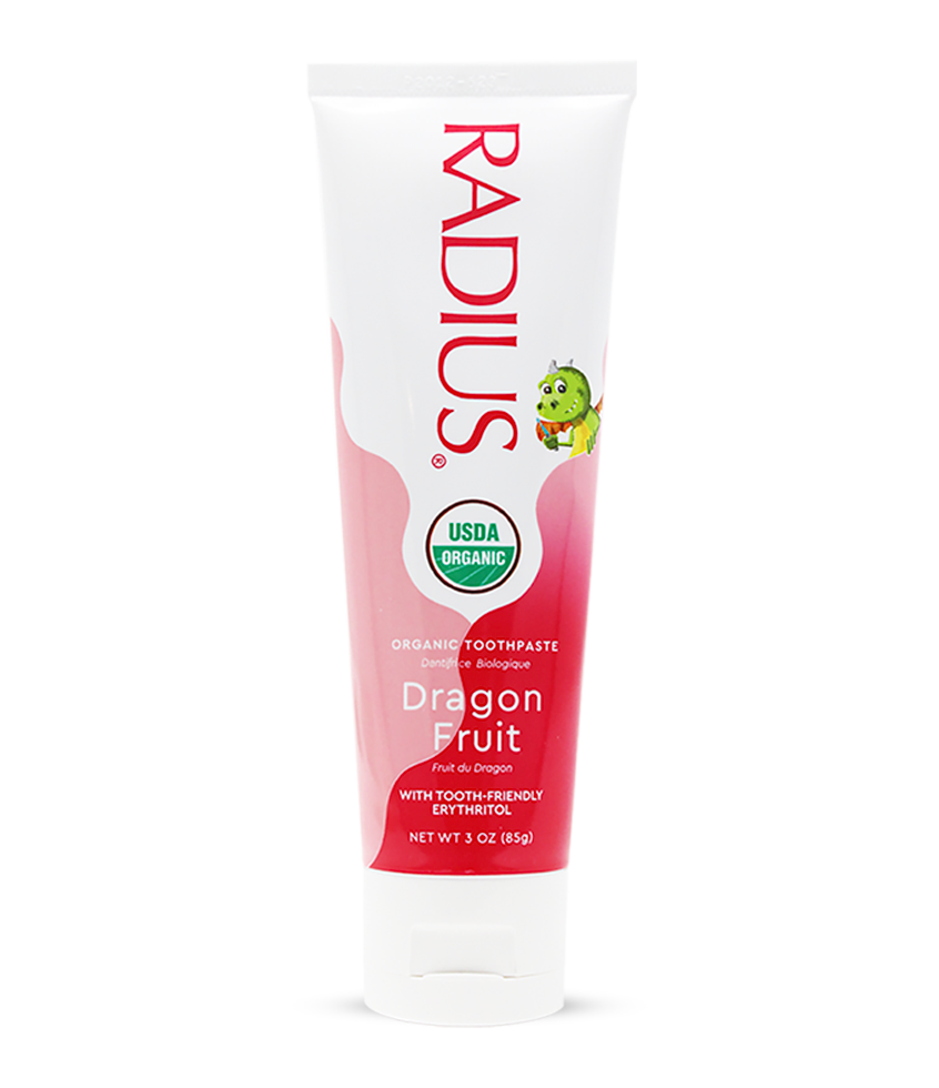 Kids USDA Organic Dragon Fruit Toothpaste