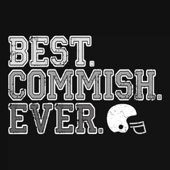 Best Commish Ever T-shirt from Boots Tees