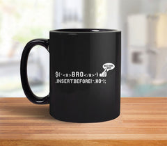 Bro Code Mug from Boots Tees
