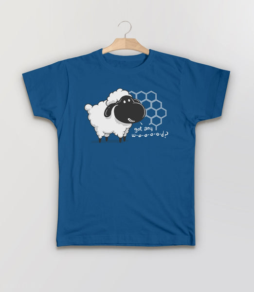 Catan You Give Me Wood?, Royal Blue Kids Tee by BootsTees