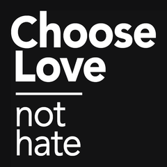 Choose Love Not Hate T-shirt from Boots Tees