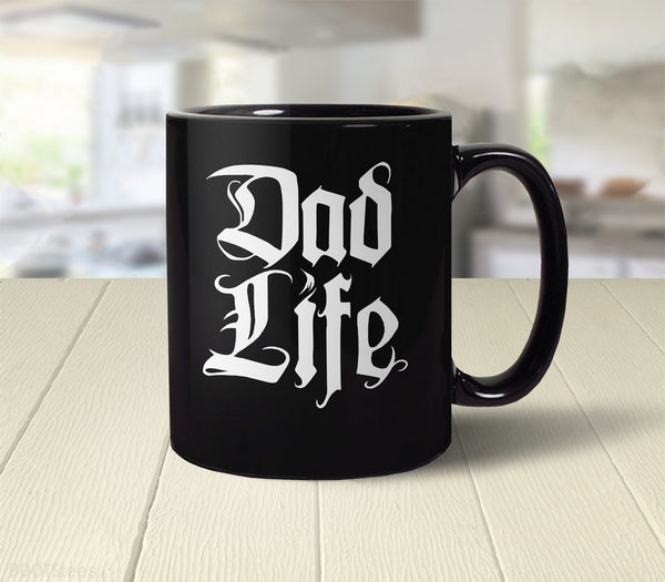 Dad Life coffee mug | funny dad gift - back