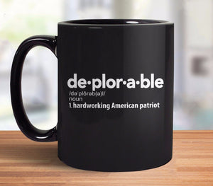 Deplorable Definition Coffee Mug from Boots Tees