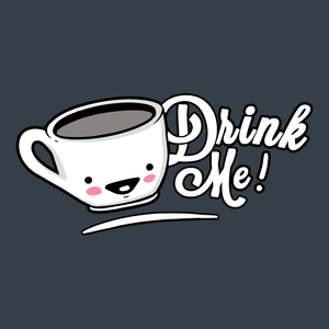 Drink Me: Cute Alice in Wonderland t-shirt