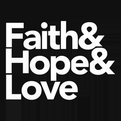 Faith & Hope & Love T-shirt from Boots Tees