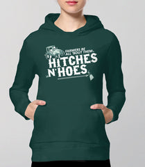 Farmers Be All 'Bout Them Hitches and Hoes Hoodie from Boots Tees