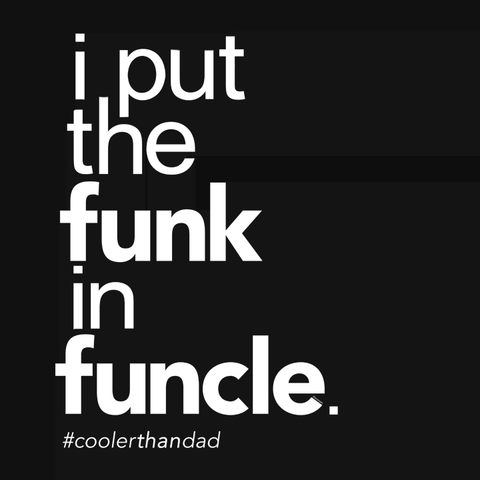 I Put the Funk in Funcle t-shirt and gift for uncle