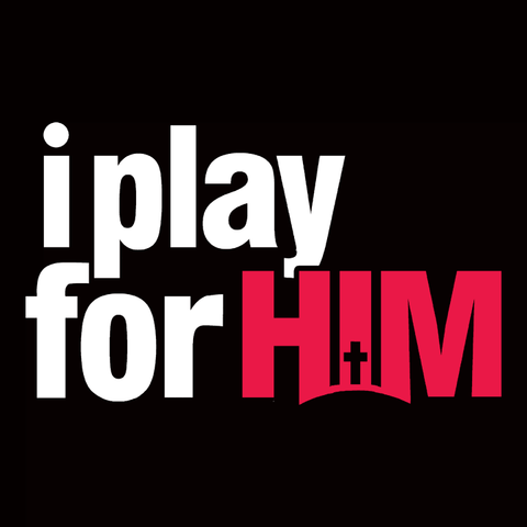 I Play for Him T-Shirt | Christian athletic tee shirt