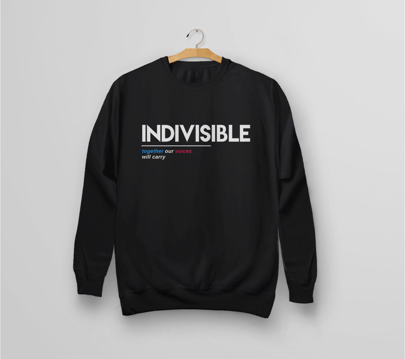 Indivisible sweatshirt